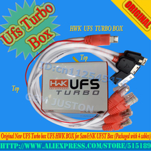 gsmjustoncct Original New UFS Turbo box UFS HWK BOX for Sam&NK UFST Box (Packaged with 4 cables)(China)