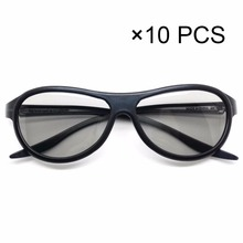 10pcs/lot Replacement AG-F310 3D Glasses Polarized Passive Glasses For LG TCL Samsung SONY Konka reald 3D Cinema TV computer