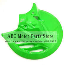 Plastic Front Brake Disc Cover Protector for Chinese Dirt Pit Bike Fitting 270MM Brake disc Plate Rotor fitting fastace shock(China)