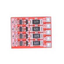 4S 3.6V 58mA 18650 Lithium Iron Phosphate Battery Balanced Board Li-ion Charger Balancer Board