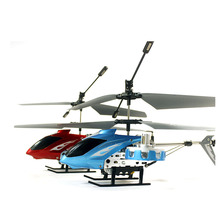 High Quality RC Helicopter For Kids Metal  Aeromodelling Remote Control Rechargeable Aircraft 4.5 CH Gyro RTF LED Lights TY