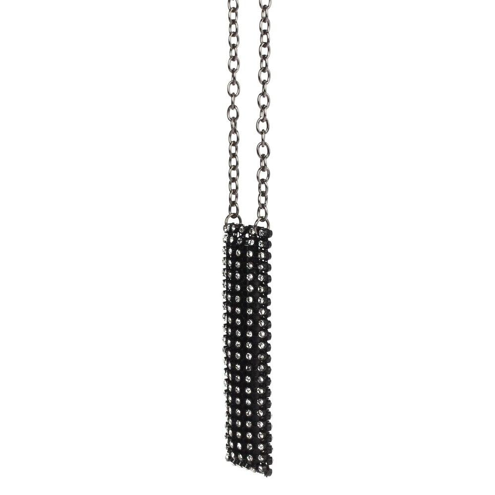 DP0901B women crystals pendant necklace designed for Juul Vape e cigarette pouch  (3)
