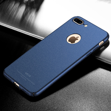 Original MSVII Cell Phone Cases For iPhone 7/ 7 Plus Case Hard Silicone Scrub Matte PC Back Cover Case For iPhone 7 Plus Housing(China)