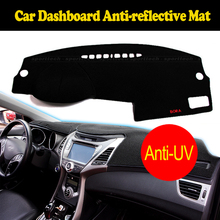 Car dashboard cover mat for Hyundai new Santa Fe 2012-2016 IX45 2015-2016 Right hand drive dashmat dash cover auto accessories(China)