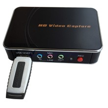 2017 New USB Video Audio Capture Card from old analog VHS, Hi8, Camcorder to USB Drive or HDMI equipment directly. Free shipping