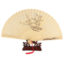 2017 Sellers Free Of Charge Factory Direct Sales Good Quality Wedding Return Souvenir Gift Japanese Hand Fan  Woodiness  GYS108
