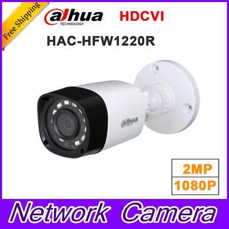 Wholesale dahua HAC-HFW1220R 1MP HDCVI IR Bullet Camera Smart IP67 1080P 2MP HD CCTV Lite Series DH-HAC-HFW1220R<br>