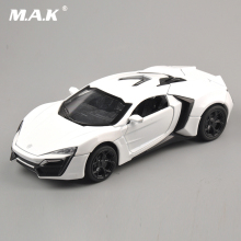 1:32 Scale 4 Color Alloy Lykan Hypersport Toy Car Fast & Furious 7 Diecast Car Model Cars Model Toys With Light&Sound(China)