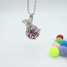 All The Best Wishes For New Baby Money Bag DIY Locket Pendant Mexician Musical Necklace for Prental Eudation