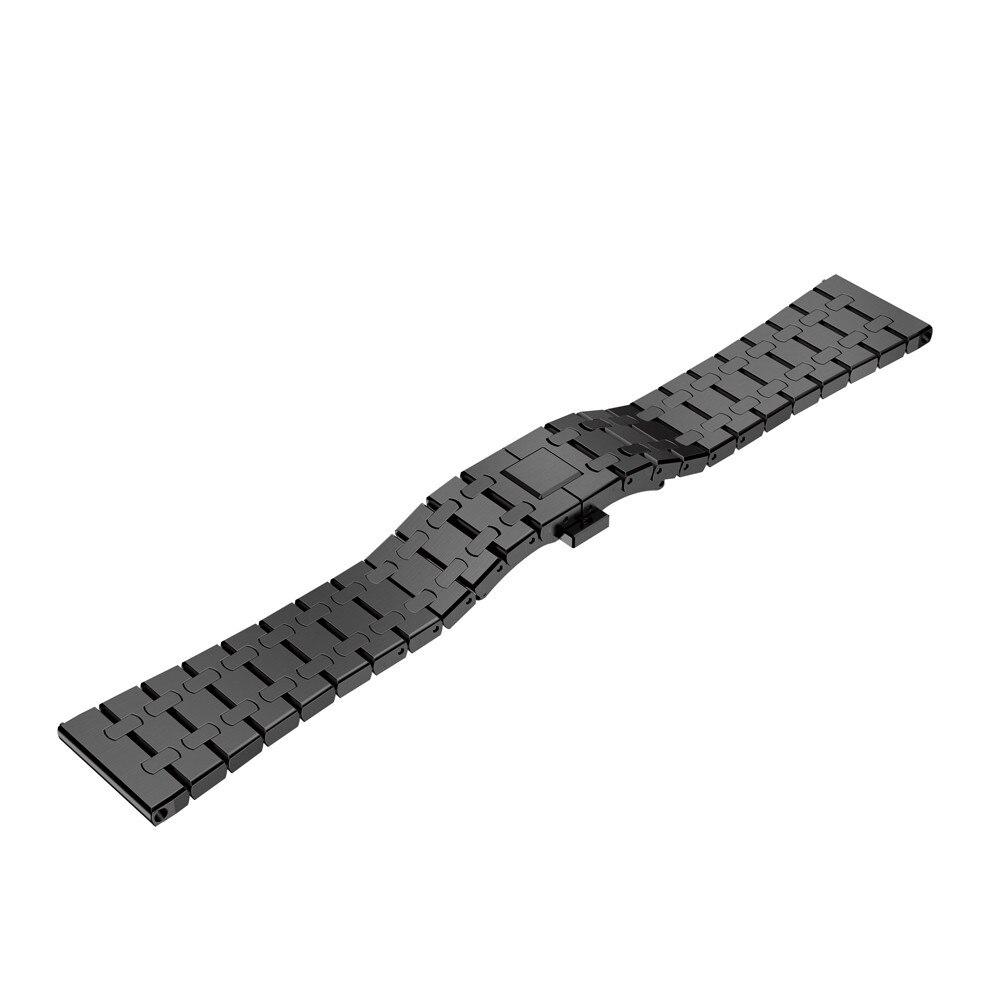 Genuine Stainless Steel Watch Bracelet Band Strap For Garmin Fenix 5 Watch Fleje de acero inoxidable  dignity 8.9<br>