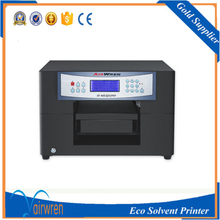 Multifunction digital eco solvent inkjet printer for phone cover ,dog tags,id cards(China)