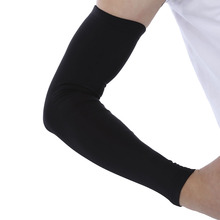 1pcs Single Breathable Extended Elbow Arm Sleeve Protection Joint Compression for Outdoor Basketball Football Shooting M L XL