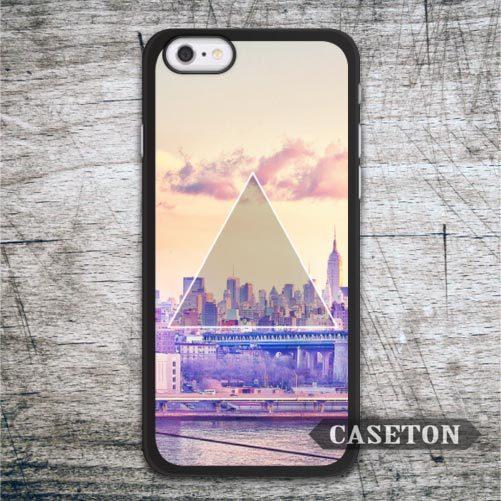 Triangle City font b Case b font For font b iPhone b font font b 7