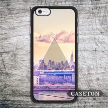 Triangle City Case For iPhone 7 6 6s Plus 5 5s SE 5c and For iPod 5 High Quality Classic Stylish Cover Global Wholesale