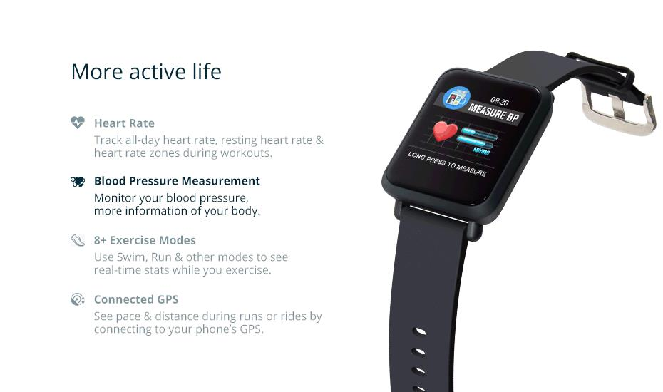 COLMI Smart Watch M28 IP68 Waterproof Bluetooth Heart Rate Blood Pressure Smartwatch for Xiao mi Android IOS Phone 7_11