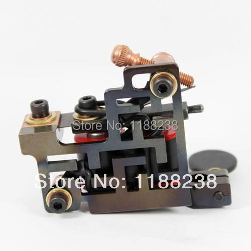 Professional  Luos Handmade Tattoo Gun 10 Wrap Coils Alloy tattoo Machine Tattoo Beginner Artist Special For liner TM-1202<br>
