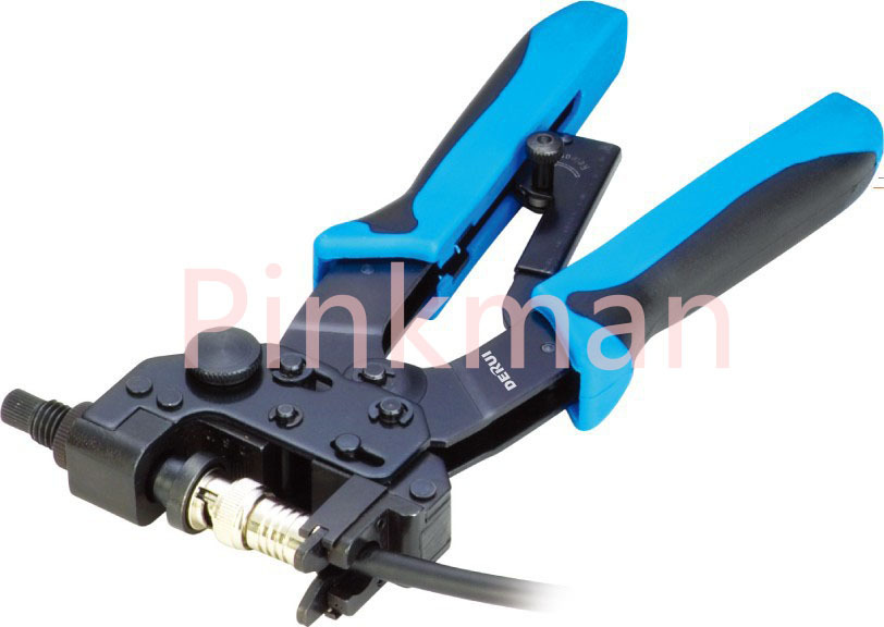 TL-H510B 0.5-6MM2 CRIMPING TOOLS For CrimpingF,BNC,RCA,RG 59, RG6 F type cable(China (Mainland))