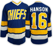 Ice Hockey Jersey Vintage Jack Hanson 16 Charlestown Chiefs Hockey Jersey Best for Winter Ice Sport Wear Wholesale Dropship