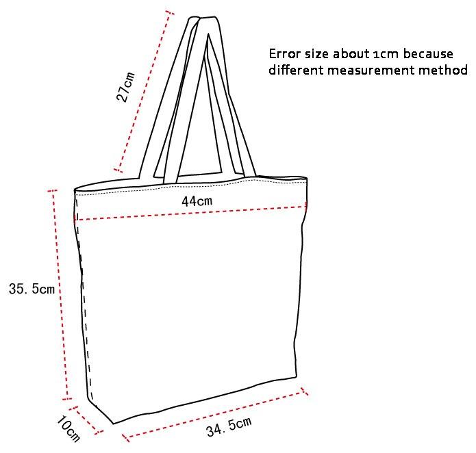 Выкройка на холщовую сумку
