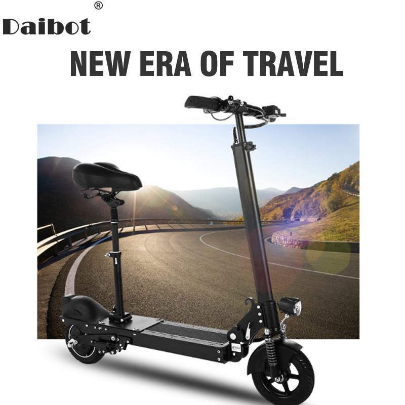 Daibot Electric Bicycle 350W Two Wheel Electric Scooters Remote Control Mini Portable Foldable Electric Bike Adults