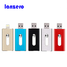 For iphone memory ios flash Pen drive HD memory stick Dual purpose mobile Otg Micro USB FLASH Drive 32GB iphone flash drive