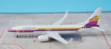 new GeminiJets GJAAL1515 1: 400 American airlines  B737-800 / w N917NN Alloy aircraft model Collection model Holiday gifts