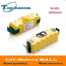 2X 14.4V 4500mAh Ni-MH Battery for iRobot Roomba Vacuum Cleaner for 500 560 530 510 562 550 570 581 610 650 790 780 532 760 770