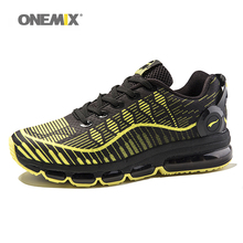 Buy New Onemix Air Cushion Mens Running Shoes Women sports light walking shoes breathable mesh vamp anti-skid outdoor sneakers for $59.50 in AliExpress store