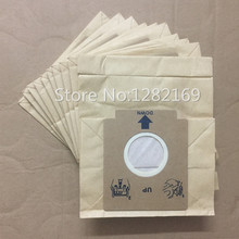 10 pieces/lot Vacuum Cleaner Dust Bag Paper Filter Bag for Electrolux ZMO1550 ZM01510 ZMO1511 ZMO1530