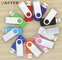 JASTER New USB Flash Drives Swivel External Pendrive 64GB 32GB 16GB 8GB 4GB memory stick usb Creative pen drive