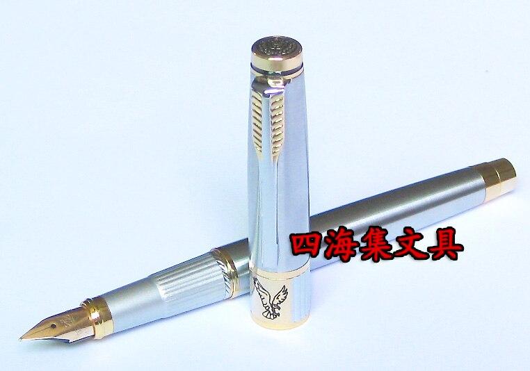 Fountain pen 200d gold clip 14k fountain pens pen 14k gold  FREE shipping<br><br>Aliexpress