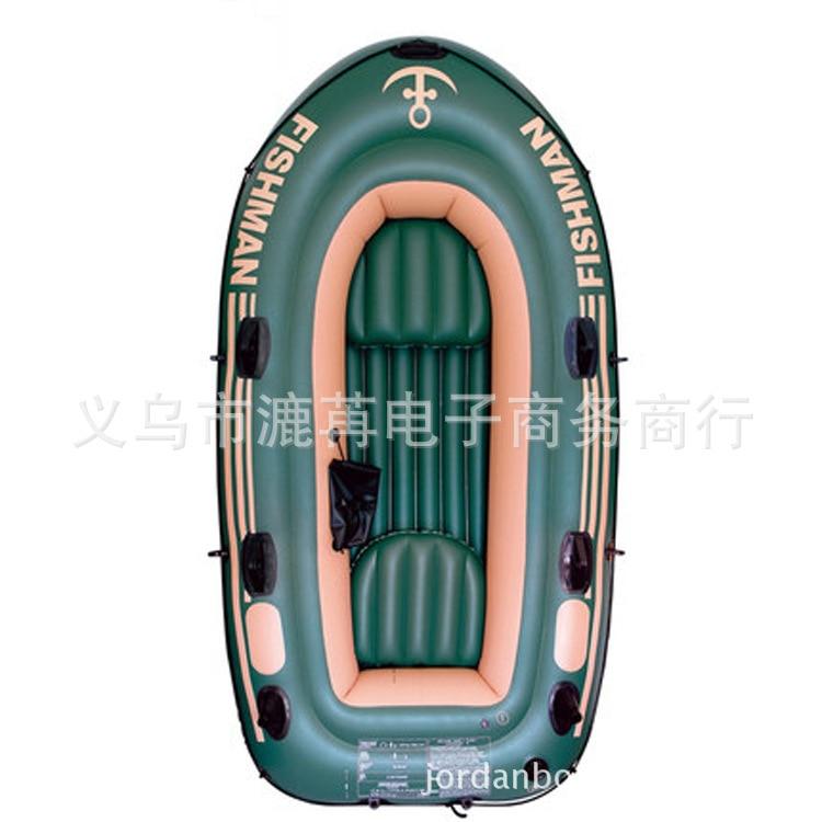 Jilong 4 adult inflatable fishing boat PVC air kayak rubber boat 305*136*42cm kayak fishing<br><br>Aliexpress