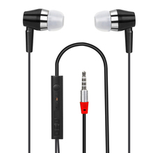 AlfarTec Nice Gift WGYJ008 In-ear Earbuds With 3.5MM Connector Microphone Portable Earphone For Samsung Meizu Xiaomi Iphones PC