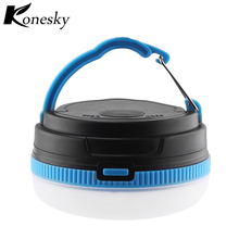 Konesky Camping Light Portable Lanterns Outside Lamp Tent Lamp Flashlights for Emergency Camping Outdoor Lighting(China)