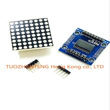 5pcs MAX7219 dot matrix module microcontroller module display module finished goods