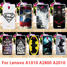 Mobile Phone Case For Lenovo Vibe B A2016 A1010 A2010 A20 A Plus A1000 A2580 A2800D Bag Spiderman Back Cover Housing Sheath Skin