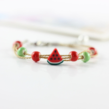 """Color of the season"" cute Bracelet female cartoon couple sister Bracelet students simple sweet jewelry MS2038"