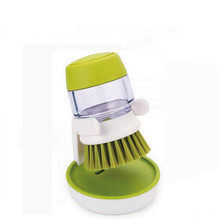 1 Pieces Washbrush Innovation Dishwasher Cleaner For Storage Of Detergent Soap Detergent Tank Wash Kitchen Tools