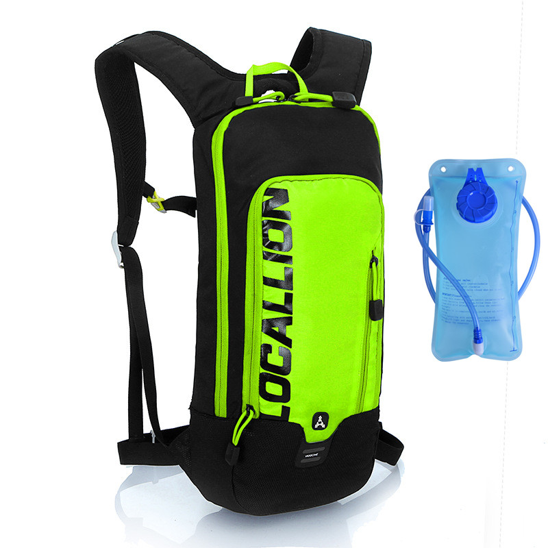 Bicycle Hydration Backpack Camelback With 2L Water Bladder Reflective Casual Walking Travel Backpacks Bag<br>
