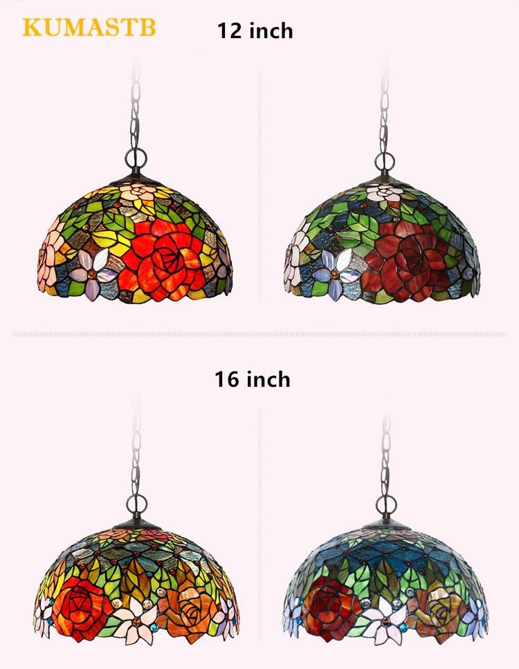 Tiffany Rose Lamp 18