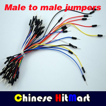 wholesale Jump Wire Male to Male Solderless Flexible Breadboard Jumper Cable Line 6500pcs DHL Free #J011-a(China)