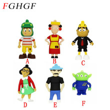 FGHGF Cartoon Toy Story USB Flash Drives 1GB 2GB 4GB 8GB 16GB 32GB 64GB Potato Head Memory Stick Flash Disk free shipping(China)