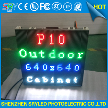 IP65 light weight P10 outdoor rental led display screen, die casting aluminium cabinet outdoor SMD led panel(China)
