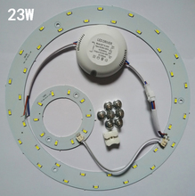 Free Shipping Diameter 23W Magnetic LED Circular Board Lights/Magnetic Led Ceiling Ring Lamps