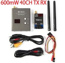 TS832+RC832 FPV 5.8G 600mW 40 Channel Wireless Audio/Video A/V Transmitting/Receiving System Combo Module for FPV(China)