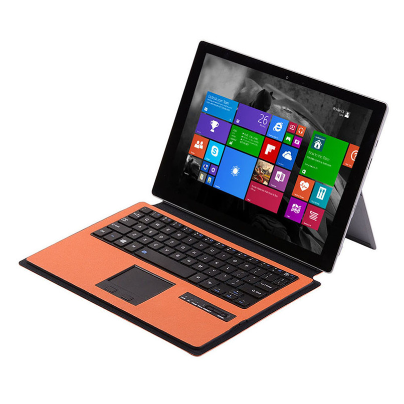 New Arrival Wireless Bluetooth keyboard Case Touchpad for Microsoft Surface 3 10.8 inch Free Shipping H5T4(China)