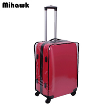 PVC Transparent Luggage Protective Cover  Durable Waterproof  Suitcase Dust Cover For Trunk Case Accessories Supplies Products
