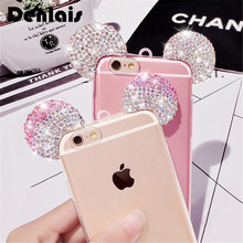 Buy Samsung Galaxy Core Prime LTE G360 G360H G361 Bling Luxury Crystal Rhinestone Mickey Ears Cartoon Case Glitter Soft Gel Capa for $3.69 in AliExpress store