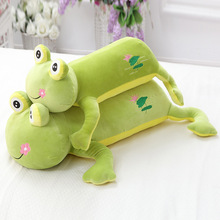 1Pc Soft Frog Plush Toys Large Frog Shape Stuffed doll Baby Soft Pillow Cushion Children Gifts 60cm 80cm