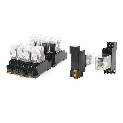 AC 36V Coil Voltage DPDT 2NO 2NC 8-Pin Electromagnetic Power Relay 10 Pcs  Free Shipping<br>
